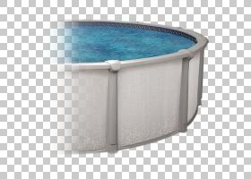 栅栏卡通,椭圆形,角度,塑料,Kenco Pools水疗马歇尔台球,楼梯,墙,