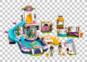 夏季游泳,播放集,娱乐,播放,充气床垫,玩具积木,玩具反斗城,乐高