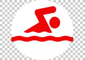 夏季游泳,红色,线路,手,点,文本,面积,泳衣,游泳池,符号,游泳,夏