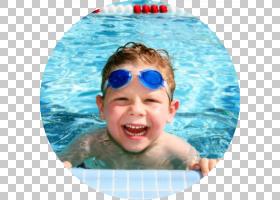 夏季游泳池,蹒跚学步的孩子,眼镜,水上运动,头盔,夏天,娱乐,眼镜,