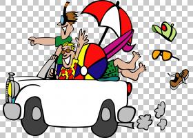 夏季白色背景,卡通,线路,娱乐,演示文稿,家庭,孩子,假日,网站,旅