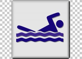 游泳卡通,徽标,符号,文本,角度,电蓝,绘图,游泳,游泳池,