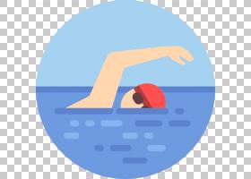 夏蓝背景,线路,徽标,圆,符号,文本,面积,蓝色,完全浸没,教练,游泳