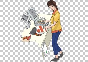 超市卡通,就业,书桌,家具,卡通,职业,零售文员,酒店,烹饪,餐厅,服