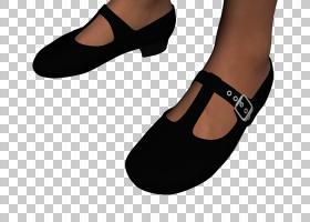 玛丽・简鞋履,步行鞋,户外鞋,鞋类,行走,数字艺术,女性,触发器,皮