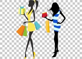 购物袋,线路,关节,时装设计,黄色,公共关系,购物袋,晚礼服,女人,