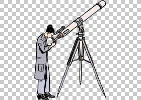 科学家卡通,光学仪器,相机附件,线路,武器,角度,哥白尼,三脚架,科