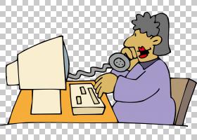 电话卡通,技术,手指,手,客户服务,卡通,艺术品,性格,女性,电话,女