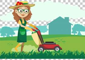 绿草背景,卡通,草,草原,绿色,场,播放,树,植物,肖像,剪影,草坪,机