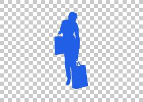 蓝色剪影,线路,关节,电蓝,站立,蓝色,徽标,阴影,动画,卡通,绘图,
