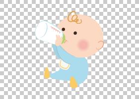 婴儿奶瓶,鼻子,材质,女人,卡通,婴儿奶瓶,孩子,婴儿,牛奶,