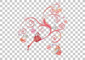 心型背景,红色,圆,字体,线路,模式,设计,文本,点,花,心,花瓣,色带