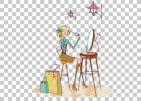 画架背景,家具,线路,表,画架,椅子,面积,玩具,漫画,镜子,女性,绘