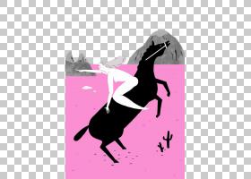 粉红色背景,黑白,洋红色,紫色,剪影,粉红色,叙事,广告,视觉传达,
