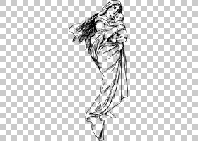 黑线背景,男性,图形绘制,关节,漫画艺术家,肌肉,黑白,线路,手,头