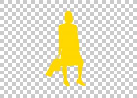 个人徽标,线路,关节,黄色,坐着,角度,站立,徽标,人,女人,卡通,绘