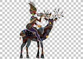 大象背景,鹿角,驯鹿,鹿,长颈鹿,孩子,蓝图,漫画,幽默,舞蹈,大象,图片