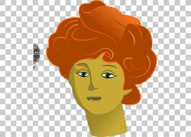 女人脸,幸福,帽子,微笑,橙色,面部表情,鼻子,染发,头发,黄色,发型