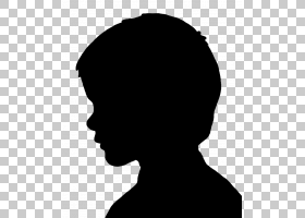 女人脸,黑白,微笑,鼻子,黑色,前额,脸,下颚,颈部,头部,女人,卡通,