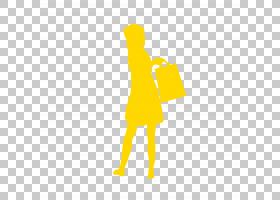 女卡通,幸福,线路,徽标,橙色,关节,手,黄色,站立,肩部,人物素描,