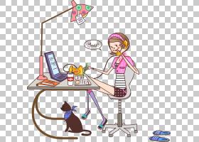 女卡通,技术,线路,表,播放,职业,面积,娱乐,漫画,时尚,女人,卡通,