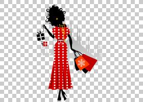 女卡通,服装设计,时装设计,漫画,时尚,剪影,购物,女人,卡通,