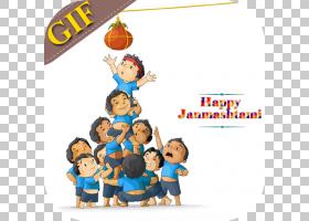 简玛什塔米节(Janmashtami Festival),卡通,爱,愿望,罗达,节日,幸