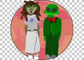 背景绿色,植物,相互作用,绿色,卡通,性格,