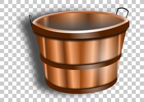 金属背景,炊具和烘焙器皿,金属,铜,铲斗,