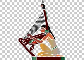 音乐卡通,弹拨弦乐器,乐器,弦乐器,古代史,埃及音乐,阿努比斯,埃