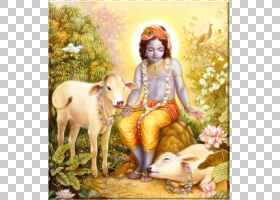 简玛什塔米神话,绘画,神话,宗教,牛,C Bhaktivedanta Swami Prabh