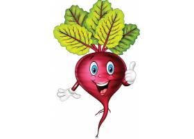 个性可爱的拟人化水果蔬菜形象设计