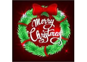 圣诞节主题喜庆节日气氛装饰元素标签设计