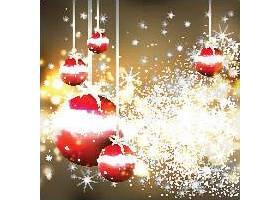新年圣诞节主题喜庆节日气氛装饰元素标签设计