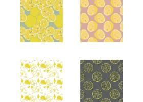 矢量柠檬水果设计