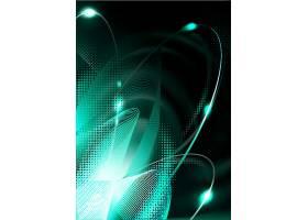 创意炫彩光晕光影线条科技装饰背景设计