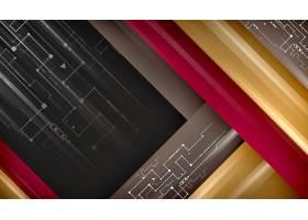 创意现代科技风装饰背景设计