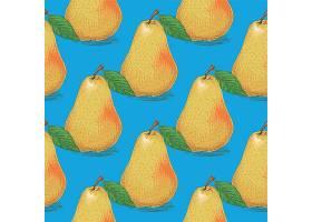 矢量梨水果设计