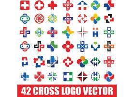 彩色医院标志设计