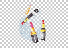 香奈儿黄,黄色,涂鸦,化妆品,口红,香奈儿,