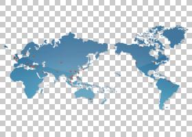 世界卡通,水,天空,蓝色,大陆,海洋,世界,大纲地图,地图,太平洋,世