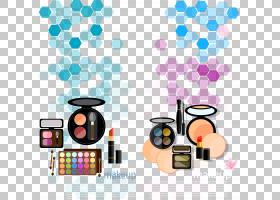 眼睛卡通,健康美容,紫罗兰,蓝色,紫色,化妆,化妆品,眼影,