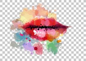 水彩花卉背景,红色,油漆,花瓣,花,水彩画,海报,颜色,化妆品,水彩