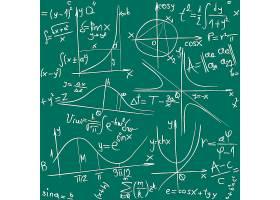 创新粉笔字黑板数学题素材