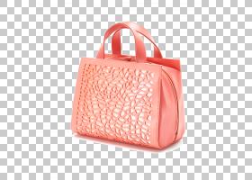 粉红色背景,桃子,肩包,橙色,粉红色,红色,手提袋,美,化妆品用具袋