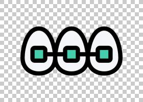 绿色圆圈,眼镜,圆,符号,面积,线路,文本,绿色,诊所,牙髓学,种植学