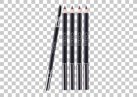 铅笔卡通,刷子,办公用品,健康美容,免费,眼线,单眉,天猫,柳絮,眼