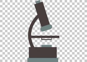 显微镜卡通,线路,角度,正方形,绘图,卡通,显微镜,