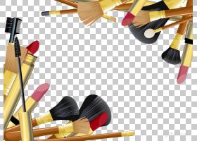 铅笔卡通,鞋,黄色,铅笔,指甲艺术,钉子,口红,化妆,化妆师,Mac化妆