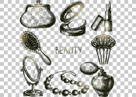 银色背景,白银,黄铜,金属,时尚,绘图,化妆品,